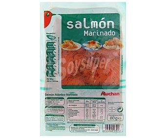 Auchan Salmón marinado 80 gramos
