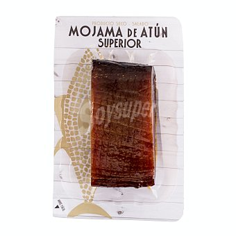 Ubago Mojama de atún superior en taco Paquete 200 g aprox