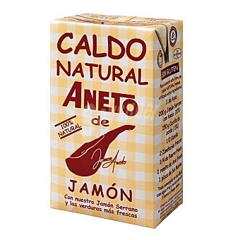 Aneto Caldo natural de jamón Brik 1 litro