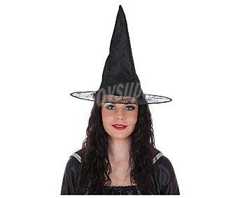 LLOPIS Sombrero para disfraz de bruja modelo Alba, disponible en 3 colores 1 unidad. Este producto dispone de distintos modelos o colores. Se venden por separado, SE surtirán según existencias