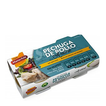 CASA MATACHIN Pechuga de pollo natural 2x58 g