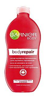 Body Garnier Leche nutritiva reparadora anti-tiranteces piel extra seca o dañada frasco 400 ml Frasco 400 ml