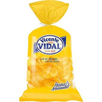 Vicente Vidal Patatas fritas en caldera chips Bolsa 200 g