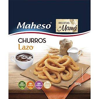 Maheso Churros lazo artesanos Bolsa 500 g