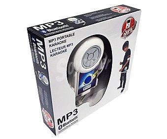 MP3 Karaóke mp3 portátil con micrófono y auricular, conexión a través de Bluetooth 1 unidad