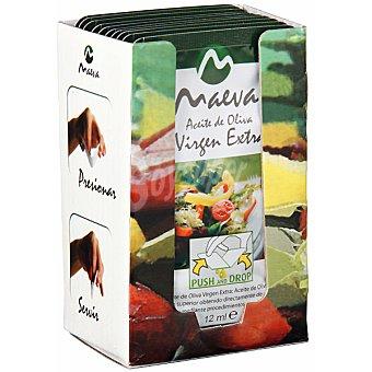 Maeva Aceite de oliva virgen extra en monodosis Pack 10 envases 12 ml