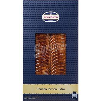 Julian martin Chorizo ibérico en lonchas Envase 100 g