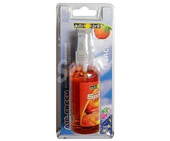 Autobrill Ambientador en Spray para Coche, Perfume de Melocotón, 75 Mililitros 75 ml
