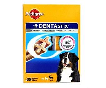 PEDIGREE DENTAStix Snack dental para razas grandes, ayuda a reducir el sarro 28 Unidades