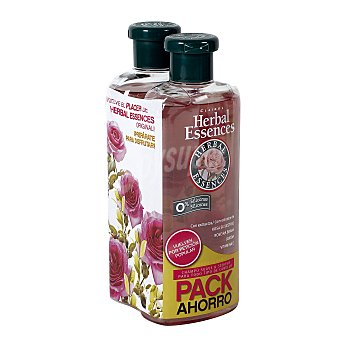 Herbal Essences champú suave y sedoso todo tipo de cabello bote 2 x 400 ml