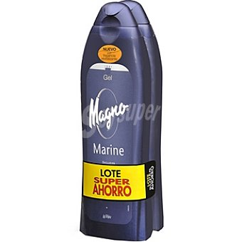 Magno gel de baño marine Pack 2 botella 600 ml