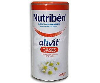 NUTRIBÉN Alivit Infusión infantil gases a base de manzanilla, hinojo e hierba luisa 200 Gramos