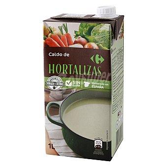 Carrefour Caldo de verduras 1 l
