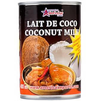 America Leche de coco Lata 400 ml