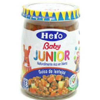 Hero Baby Potaje de lentejas Junior