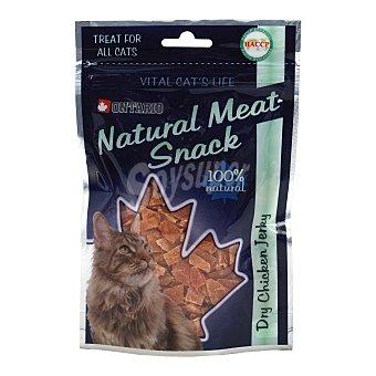 Ontario Snack para gatos adultos Ontario Dry Chicken Jerky 70 gr