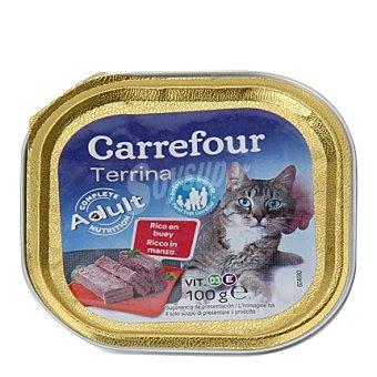 Carrefour Delicias para gatos de buey 100 gr
