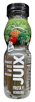 Juix Zumo fruta y verdura (espinacas,berza,piña y manzana) Botella 300 ml