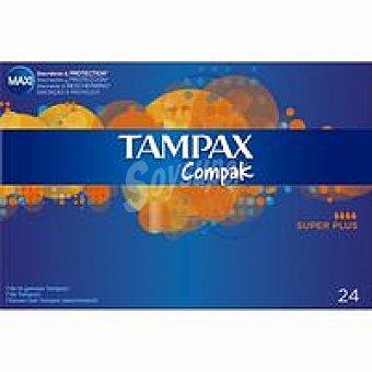 Tampax Tampón compak Superplus  24 unidades