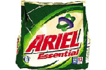 Ariel Detergente essencial Bolsa 12 cacitos