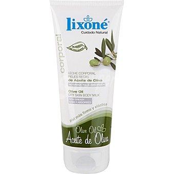 Lixone Leche corporal con Aceite de oliva para pieles secas Tubo 200 ml
