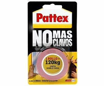 Pattex Cinta doble cara, No Más Clavos 1,5 Metros