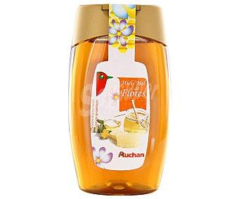 Auchan Miel de flores con dosificador anti goteo 500 gramos