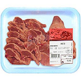 Cordero lechal paletilla en chuletas peso aproximado Bandeja 600 g