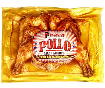 Palacios Pollo asado al grill con salsa barbacoa 700 g