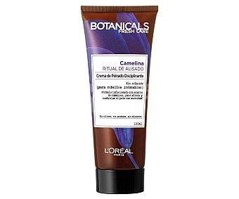 Botanicals L'Oréal Paris Crema de peinado alisante con camelina, para cabellos rebeldes e indisciplinados 100 ml