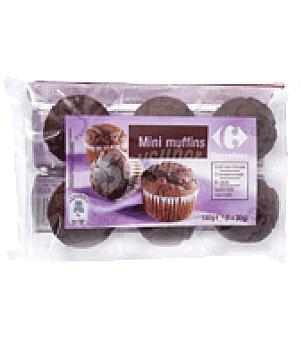 Carrefour Mini muffins al cacao 180 g