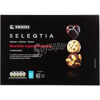 Eroski Seleqtia Surtido de galletas Eroski Caja 228 g