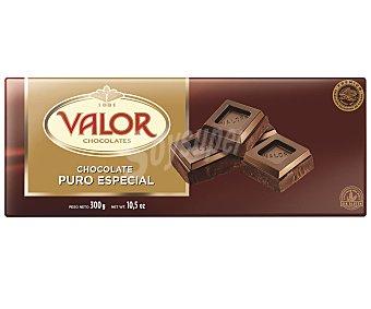Valor Chocolate especial puro 300 gr