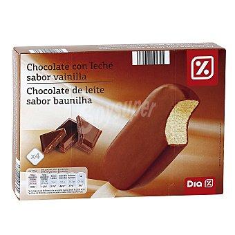 DIA Helado bombón chocolate caja 4 uds 334 gr 4 uds 334 gr