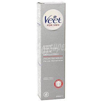 Veet For Men Crema Depilatoria Hombre, Piel Sensible veet 200 Mililitros