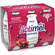 Yogur líquido Granada, Arándanos y Extracto de Maca Pack 6 x 100 g Actimel Danone