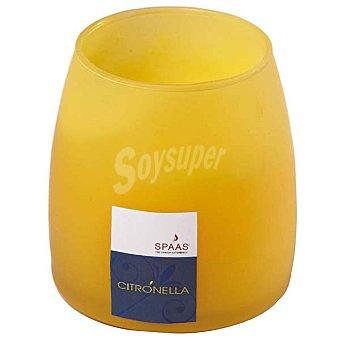 SPAAS Vela perfumada citronella en vaso mate