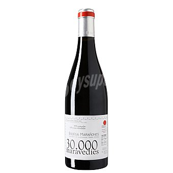 30.000 MARAVEDIES Vino tinto garnacha de Madrid Botella 75 cl