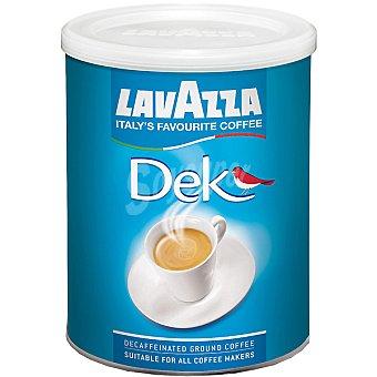 LAVAZZA Dek Café descafeinado molido Lata 250 g