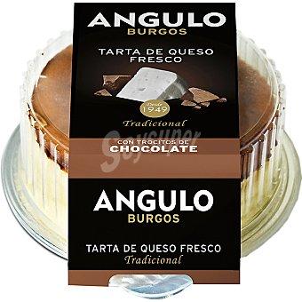 Angulo Tarta de queso fresco con trocitos de chocolate Envase 180 g
