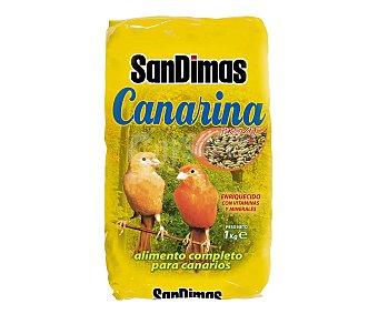 San dimas canarina Alimento completo para canarios Bolsa de 1 kilogramo