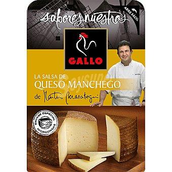 Gallo Salsa queso manchego sabores del mundo 140 g