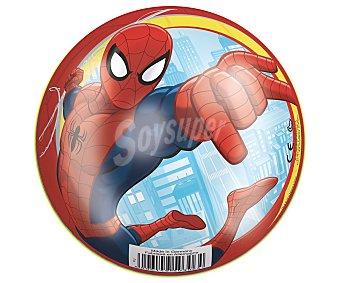 Marvel Pelota infantil de 14 centímetros decorada con los personajes de Spiderman 1 unidad