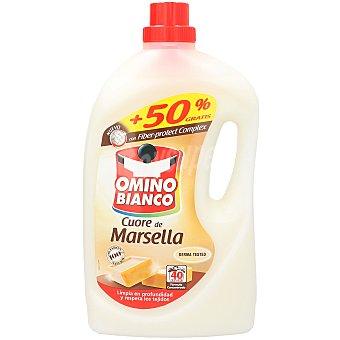 Omino Bianco Detergente líquido Jabón de Marsella 40 lavados