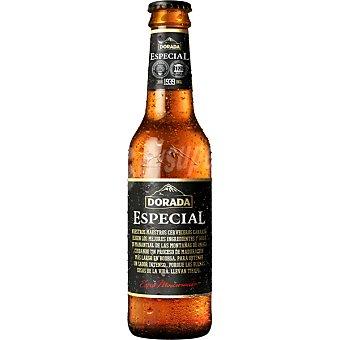 Dorada Especial cerveza rubia extra maduración Botella 33 cl