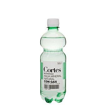 Cortes Agua con gas Botella de 500 cc