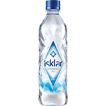 Isklar Agua mineral natural con gas Botella 46 cl
