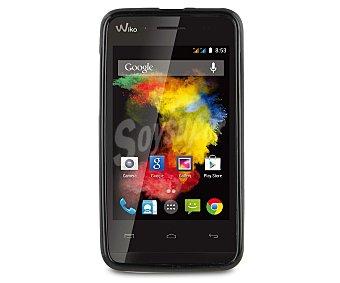 MADE FOR WIKO Carcasa para Wiko Goa Minigel, Negra, (teléfono no incluido)