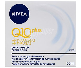 NIVEA Q10 Crema antiarrugas cuidado de día (reduce y previene las arrugas) 50 mililitros