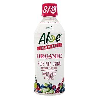 Bebida de aloe vera ecológico Aloe Granadas y Frutas del bosque botella 35 cl Pack de 3 x 33 cl
